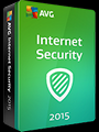 AVG Internet Security 2015 2 PCs 1 Year