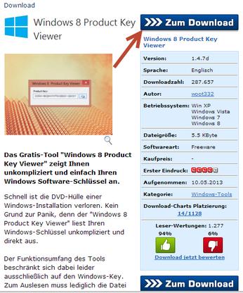 ottenere il product key di Windows 8   Soluzioni rapide